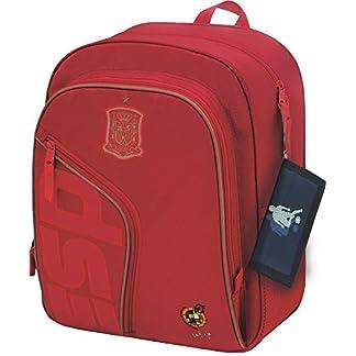 511pGh8TpTL. SS324  - Selección Española La Roja Mochila Tipo Casual, 39 cm, Rojo