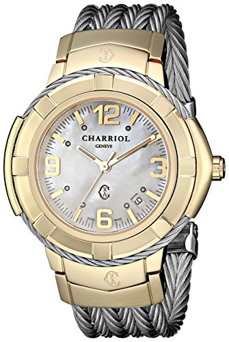 charriol-womens-ce438y1650002-celtic-analog-display-swiss-quartz-silver-watch