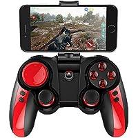 OOFAY Mando Inalámbrico Gamepad Wireless Compatible Joystick Controller para Android/iOS / Win Acceleration Function Controller