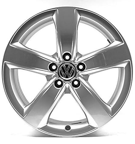 VW Golf 7 VII 5G & Alltrack R 18 Zoll Alufelgen Original Audi OE OEM Felgen 4G-M (Silber)