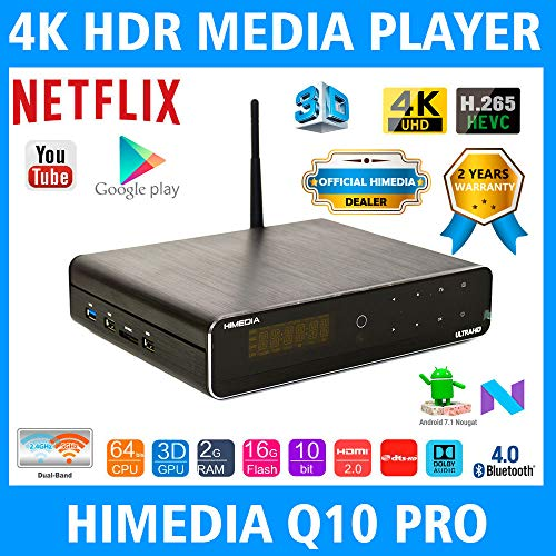 HIMEDIA Q10 PRO 4K (Ultra HD) & 3D Android Mini PC
