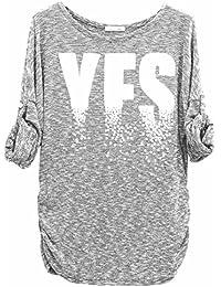 "Emma & Giovanni - T-Shirt Imprimé ""Yes"" - Femme"
