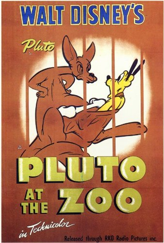 Pluto at the Zoo Plakat Movie Poster (11 x 17 Inches - 28cm x 44cm) (1942)