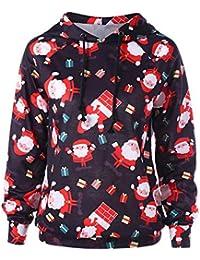 Amphia Camiseta Mujeres Tops Manga Larga Sudadera 990d30482691