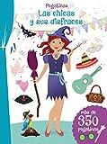 Pegatinas: Las Chicas y Sus Disfraces