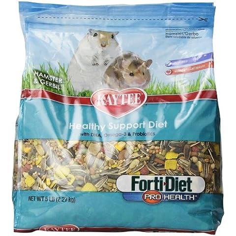 Kaytee Forti Diet Pro Health Hamster Gerbil 5lb (5 Lb Hamster)