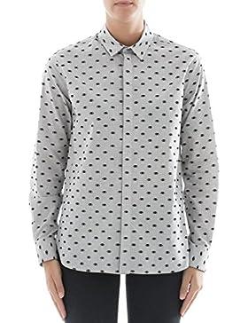 Kenzo Camicia Donna F762CH14758L93 Cotone Grigio