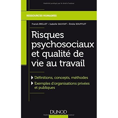 Risques psychosociaux et qualité de vie au travail - Définitions, concepts, méthodes: Définitions, concepts, méthodes, Exemples dorganisations privées et publiques