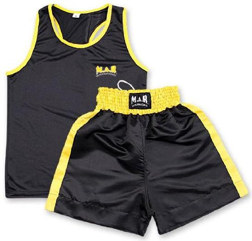 M.A.R InternationalLtd Boxing Shorts And Vest Boxing Supplies Training Gear
