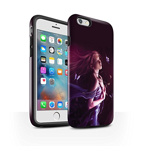 Officiel Elena Dudina Coque / Brillant Robuste Antichoc Etui pour Apple iPhone 6+/Plus 5.5 / Par le Vent Design / Un avec la Nature Collection Par le Vent