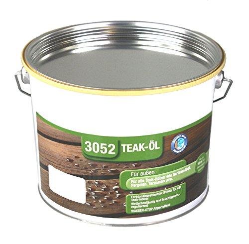 GORI 3052-900 Teaköl farblos 2,5 L Teak-Öl Holz-Öl Holzoel Teak-oel