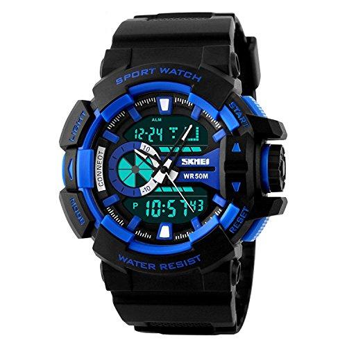 Skmei 1117 Analog Digital Multifuction Premium Sports Watch for Men and Boys