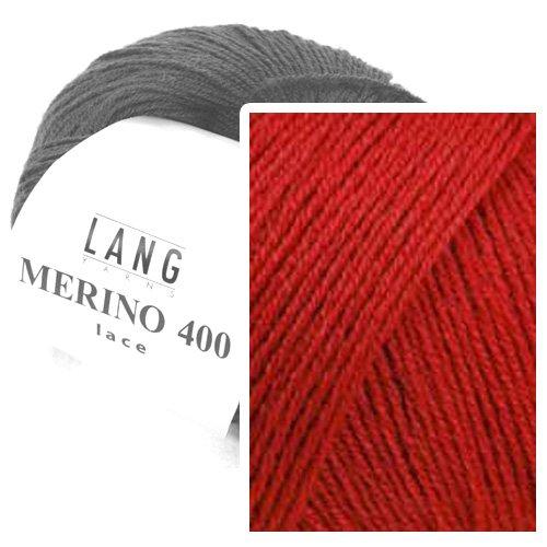 Merino 400 Lace 0061 rot -