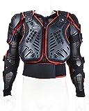 Pattinaggio, sci, snowboard moto Body Armour Jacket.With Pellicola proteggi spalle.