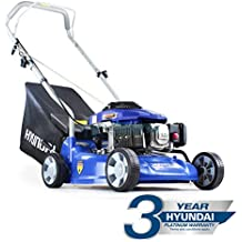 Hyundai HYM400P - Cortacésped giratorio de gasolina (99 cc, 4 tiempos, ...