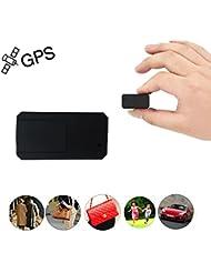 Juneo TK901 Mini GPS Tracker, TKSTAR Anti Thief Mini Real Time GPS Tracker Portable Anti-Loss GPS Locator for Purse Bag Wallet Bags Kids School Bag with App