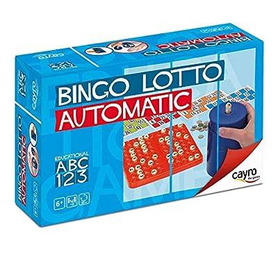 Juguetes Cayro,S.L. Bingo Automatico de Juguetes Cayro,S.L.