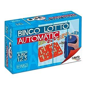 Cayro – Bingo automático – Juego Tradicional – Juego de plástico – Juego para niños y Adultos – Juego de Mesa (301)
