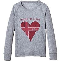 Odlo Warm Trend Camiseta Kids Grey Melange Print, color , tamaño 2 años (92 cm)
