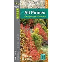 Parque National L'Alt Pirineu 1 : 50 000 Wanderkarte (Mapa Y Guia Excursionista)