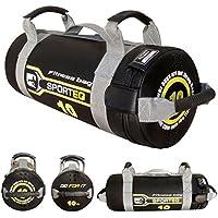 Power Training Sac de sable garni Fitness crossfit d'exercice d'entraînement Course à Pied (lot de 5kg, 10kg, 15kg et sac de 20kg)