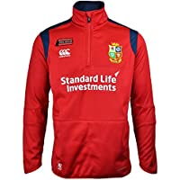 British & Irish Lions Thermoreg strato termico in pile 1/4 zip top 16/17 – Tango Red, Red, XL