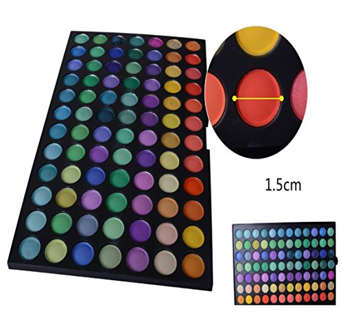 MZP 183 color color surge sombra de ojos paleta cosméticos polvo fino pintura