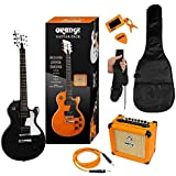 ORANGE BLACK GUITARE ELECTRIQUE PACK GUITARE