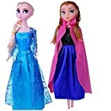 #9: Tinee True Sisters Princess Elsa & Princess Anna With Olaf Ideal Kids Toys For Girls