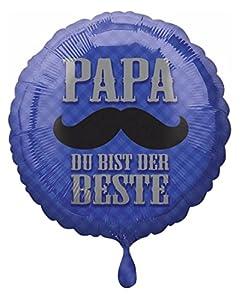 amscan 3375001 Papa du BIST Der Beste - Globo de plástico
