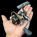 TEQIN Fishing Wheel Mini Portable Right/Left Swap Handed Fly Fishing Reel Super Light