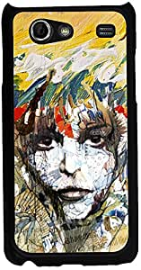 Printvisa 2D-SGSA-D7786 Girly Art Pattern Case Cover For Samsung Galaxy S Advance I9070
