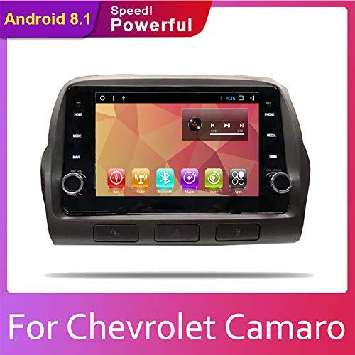 Android 8,1 IPS Bildschirm 2GB RAM+32GB ROM Auto Stereo In Dash Autoradio Head Unit für Chevrolet Camaro 2010 2011 2012 2013 2014 2015 mit Bluetooth GPS Navigation FM AM RDS Lenkradsteuerung