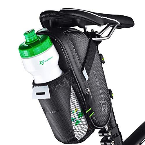 ROCKBROS Satteltasche Fahrrad Tasche Mit Flaschenhalter Wasserdicht Kratzfest Reflektierend ¡