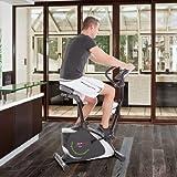 Ultrasport Heimtrainer Racer 800A mit Handpuls-Sensoren und Trinkflasche / Ergometer mit Multifunktionsdisplay sowie 12 Programmen mit 16 Widerstandsstufen – ideal für Fitness- und Ausdauertraining - 7