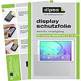 dipos I 2X Schutzfolie matt passend für Huawei MediaPad T2 10.0 Pro Folie Displayschutzfolie