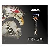 Gillette Fusion ProGlide Geschenkset Rasierer plus 2 Klingen und Rasiergel