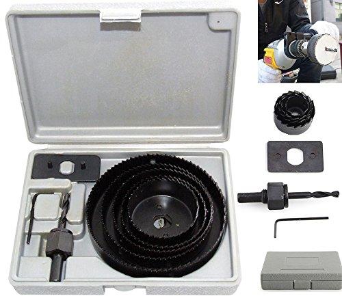 Preisvergleich Produktbild 8pc groß Lochsäge Bohrer Bits Set Bohrmaschinen rund Lochsäge Kreis Schneiden Ausstechformen