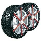 Chaines Neige Textile Michelín Easy Grip talla M15, valide pour pneus: 225/45_R18...