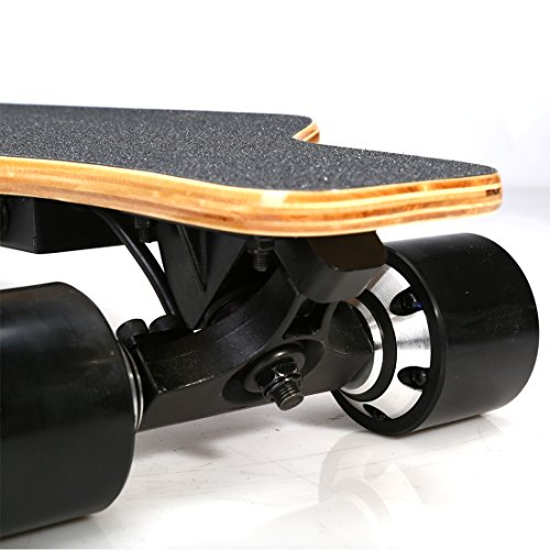 Eléctrica monopatín longboard con doble motor con remoto control profesional deporte monopatín