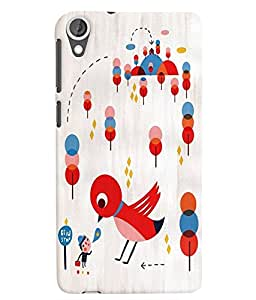 Citydreamz Cute Cartoon Hard Polycarbonate Designer Back Case Cover For HTC DESIRE 826/ HTC DESIRE 826 (CDMA+GSM)