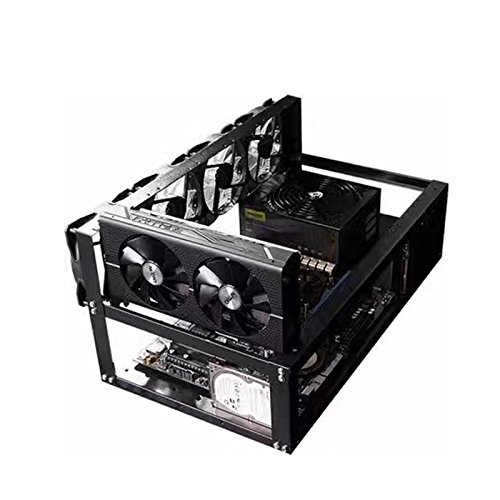 Caja de marco de minería al aire libre - Dxlta Moneda de acero Open A