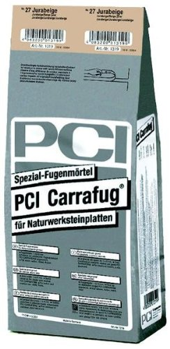 PCI CARRAFUG Spezial Fugenmörtel 5 kg Sandgrau Nr.22