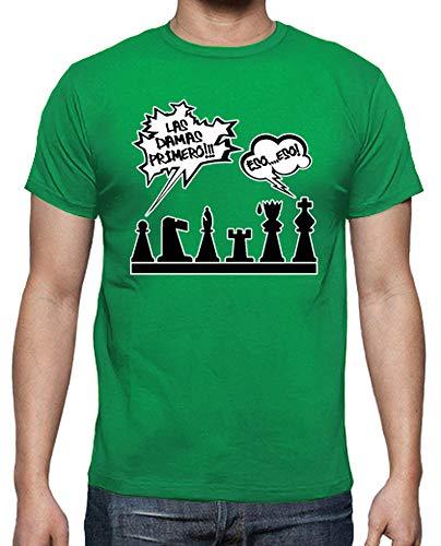 Camiseta Hombre Las Damas Primero - Varios colores / Varias Tallas