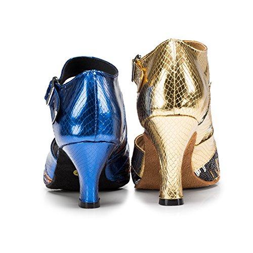 Miyoopark , Salle de bal femme Blue-6cm heel