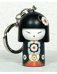 Porte clé Kokeshi Kimmidoll 5cm Ayumi - aventure