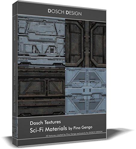 Dosch Textures: Sci-Fi Materials Material-textur