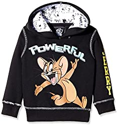 Tom & Jerry Boys Sweatshirt (TJ1DHB544_BLACK_2/3)