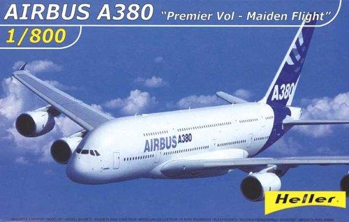 heller-79845-construction-et-maquettes-airbus-a380-premier-vol-maiden-flight-echelle-1-800eme