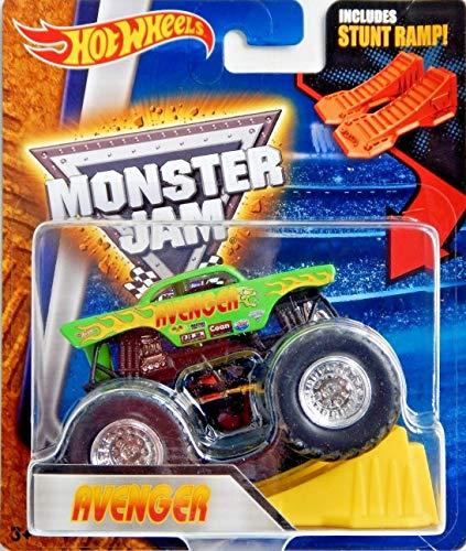 Avenger Hot Wheels Monster Jam Monster Truck with Stunt Ramp by Hot Wheels